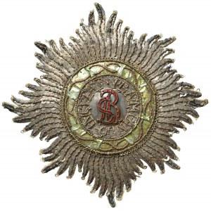 Gwiazda Orderu Świętego Stanisława - I wersja po 1765