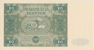 20 złotych 1947 - Ser.A