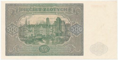 500 złotych 1946 - M