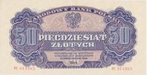 50 złotych 1944 ...owym - PC