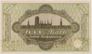 Gdańsk, 1.000 marek 1922