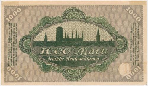 Gdańsk, 1.000 marek 1923