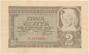 2 złote 1940 - B