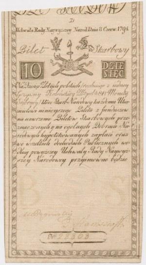 10 złotych 1794 - D