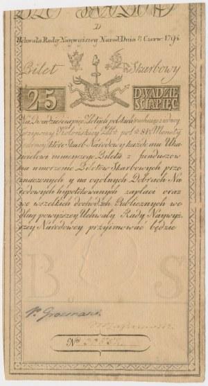 25 złotych 1794 - D