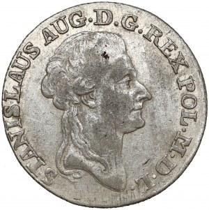 Poniatowski, Złotówka 1786 EB - przejściowa