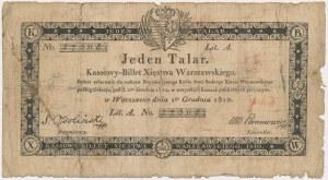 1 talar 1810 - Ossoliński
