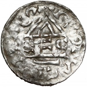 Niemcy, Henryk II, Denar ECCO (985-995)