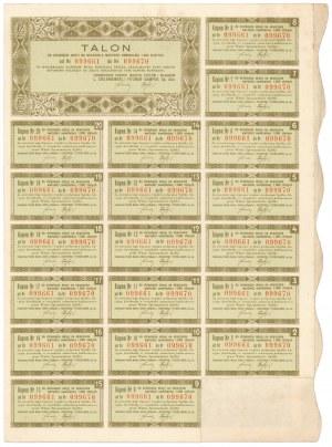 L. Zieleniewski i Fitzner-Gamper Zjednoczone Fabryki Maszyn..., 10x 100 zł 1938