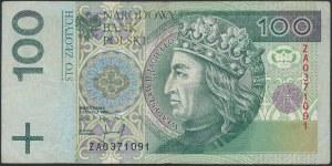 100 złotych 1994 - ZA - seria zastępcza