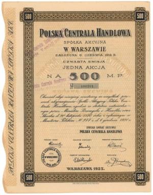 Polska Centrala Handlowa, Em.4, 500 mkp