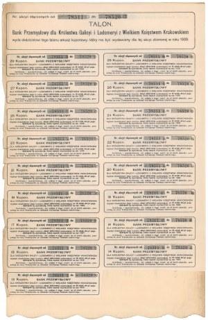 Bank Przemysł. dla Król. Galicyi i Lodomeryi, 10x 400 kr 1919