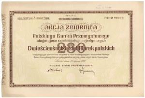 Polski Bank Przemysłowy, 100x 280 mkp 1923