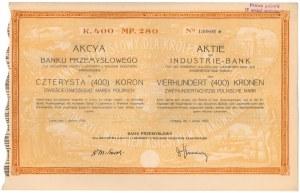 Bank Przemysł. dla Król. Galicyi i Lodomeryi, 400 kr 1920