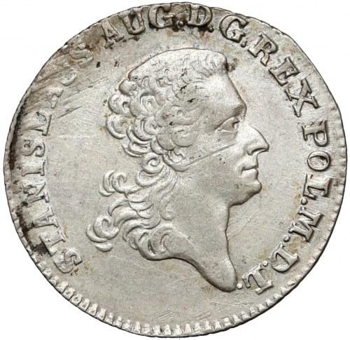 Poniatowski, Złotówka 1767 FS