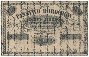 Horochów, 1 złoty 10 groszy = 20 kopiejek (XIX w.)