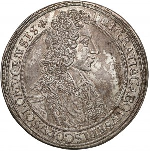 Czechy, Ołomuniec, Karol III Józef, Talar 1704
