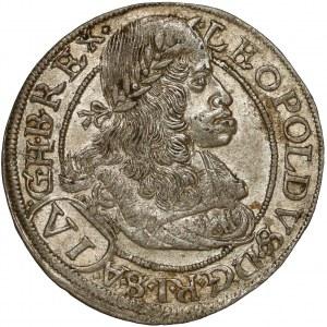 Austria, Leopold I, 6 krajcarów 1664, Wiedeń