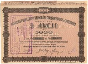 Fabryka Porcelany i Wyrobów Ceramicznych w Ćmielowie, Em.4, 5x 1.000 mkp