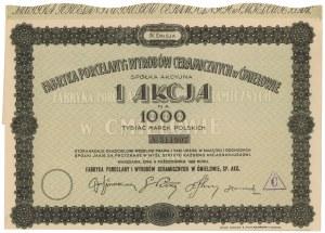 Fabryka Porcelany i Wyrobów Ceramicznych w Ćmielowie, Em.4, 1.000 mkp