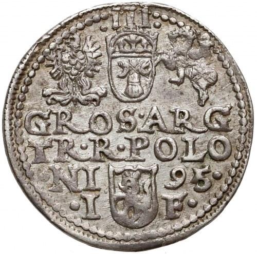 Zygmunt III Waza, Trojak Olkusz 1595 - POLON