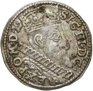 Zygmunt III Waza, Trojak Bydgoszcz 1598 - data szeroko