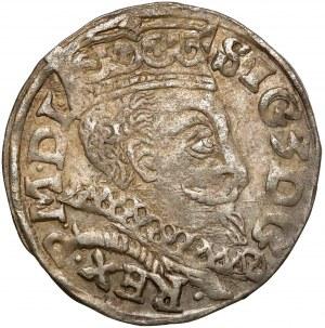 Zygmunt III Waza, Trojak Lublin 1597 - monogram