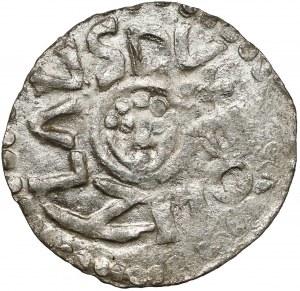 Bolesław III Krzywousty, Denar Wrocław (przed 1107) - typ I.b