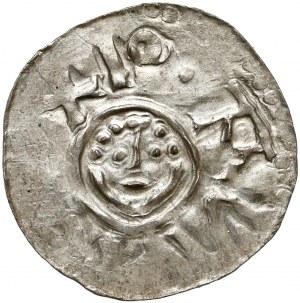 Bolesław III Krzywousty, Denar Wrocław (przed 1107) - typ I.d