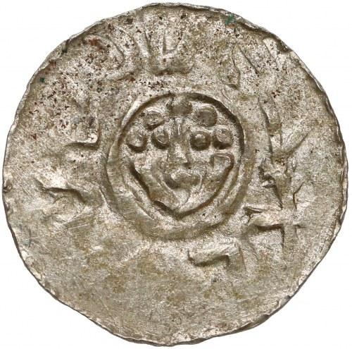 Bolesław III Krzywousty, Denar Wrocław (przed 1107) - typ I.-