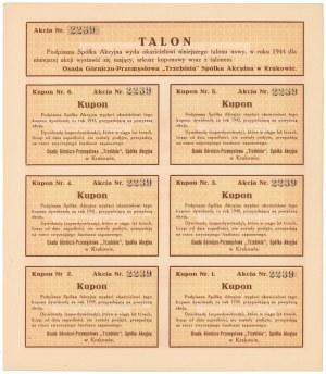 TRZEBINIA Osada Górniczo-Przemysłowa, Em.2, 100 zł 1938