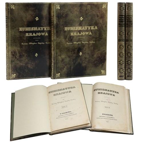 Numismatyka Krajowa, K. W. Stężyński-Bandtkie - oryginał w pięknej oprawie