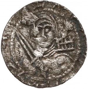 Władysław II Wygnaniec, Denar - Książę i Biskup - palisada
