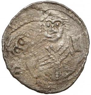 Władysław II Wygnaniec, Denar - Książę i Biskup - podwójnie bity