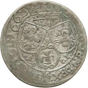 Jan II Kazimierz, Szóstak Lwów 1663 AcpT - rzadki rok