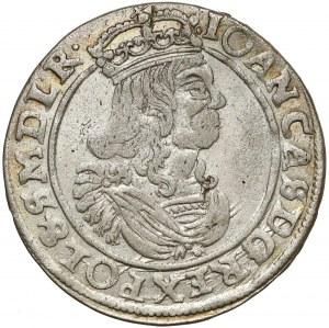 Jan II Kazimierz, Szóstak Bydgoszcz 1663 AT