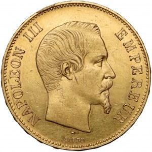 France, Napoleon III, 100 Francs 1857-A, Paris