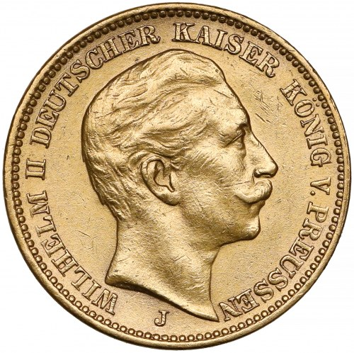 Niemcy, Prusy, 20 marek 1905-J