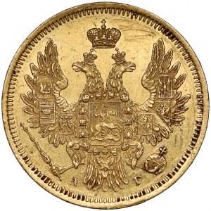 Rosja, Mikołaj I, 5 rubli 1851 АГ