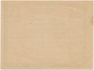 Chrzanów, Tow. Zaliczkowe, 1 korona 1919
