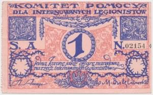 Komitet Pomocy dla internowanych legionistów, 1 korona (1917)