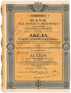 Bank dla Handlu i Przemysłu, Em.6, 540 mkp