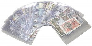Asia, Collection of banknotes
