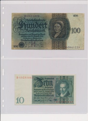 Germany, Austria, Hungary, Poland - big lot of banknotes