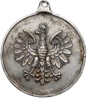 Medalik ze św. Jerzym i orłem polskim