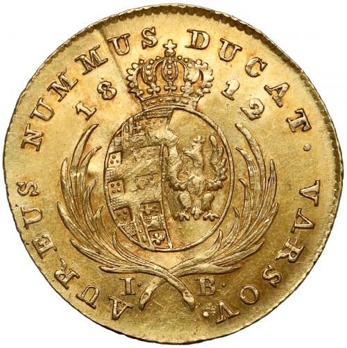 Księstwo Warszawskie, Dukat 1812 IB