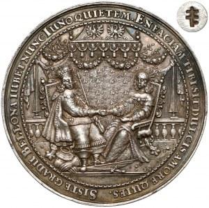 Władysław IV Waza, Medal zaślubinowy z Ludwiką Marią 1646 r. - ex. Potocki