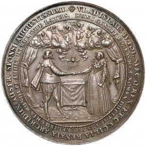 Władysław IV Waza, Medal zaślubinowy (1635 r.) - b.rzadki (Dadler)