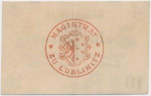 Lublinitz (Lubliniec), 10 pfg 1917 - ze znakiem wodnym