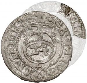 Zygmunt III Waza, Grosz (półtorak) Ryga 1616 - SIGIS - b.rzadki